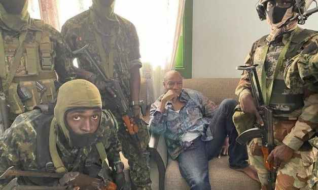 Guinea Coup: President Alpha Condé seized by military, Arrested