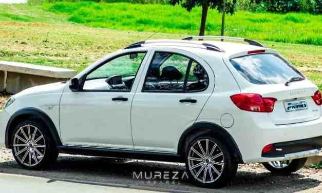 Made in Zimbabwe motor vehicle: Mureza's Prim8 hatchback car arrives