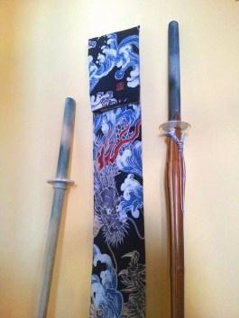 Shinai-Futteral (Kendo) - Zwölfte Koje links