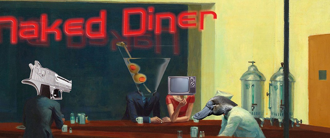 Furry J Ackermonster – Naked Diner Ep 167