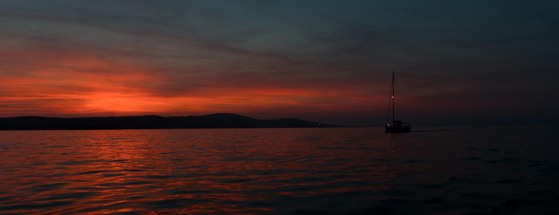 Chorwacja- zachód słońca