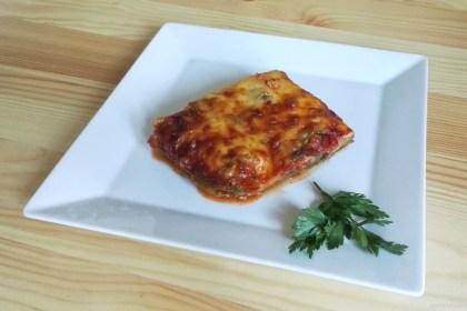 Lasagne z cukinii