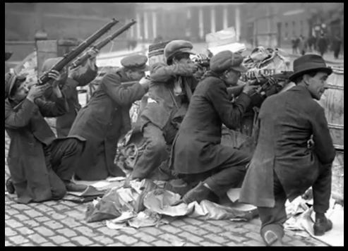 Easter Rising 1916 Irish Soldiers