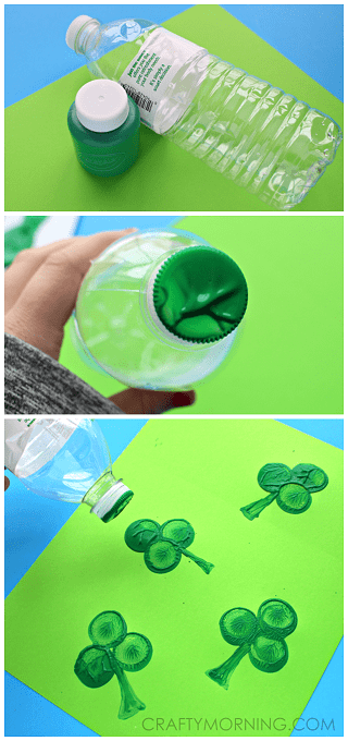 water-bottle-shamrock-stamp-st-patrick-craft