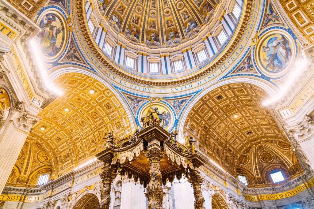 watykan bazylika św piotra rzym blog weekend w rzymie co zwiedzić