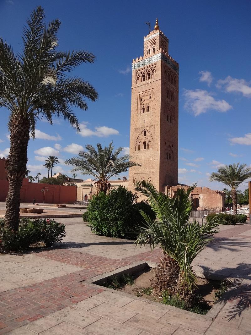 Minaret Marrakesh Maroko