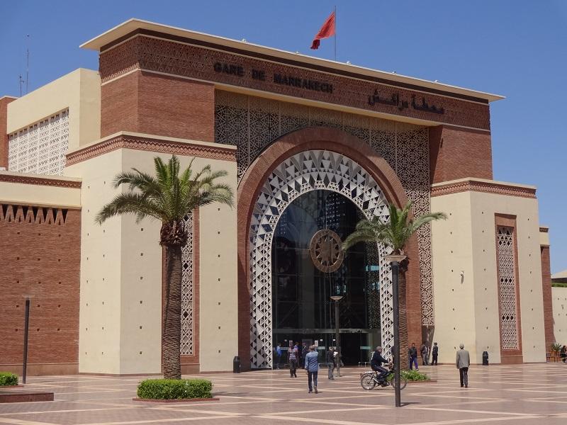 Dworzec główny kolejowy Marrakesh Maroko