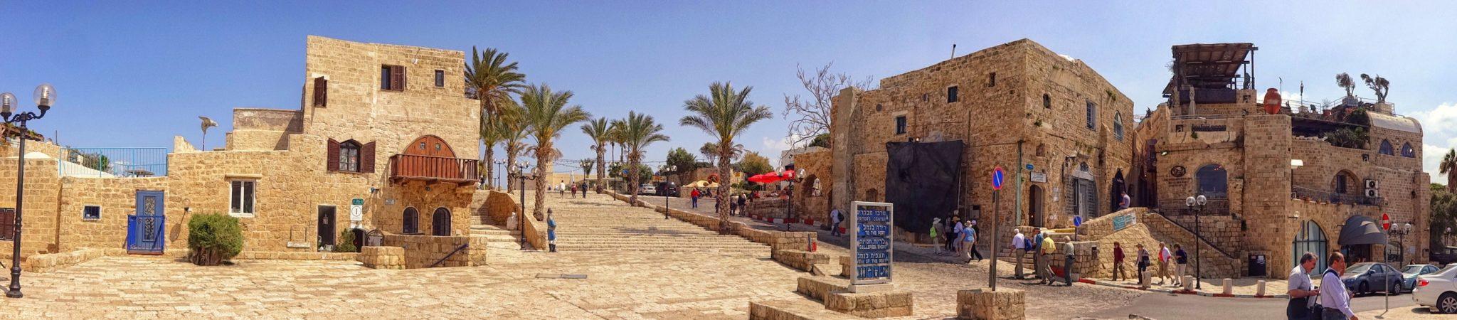 Stara Jaffa Tel Awiw Izrael Stare miasto