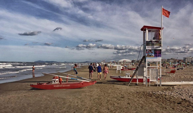 Plaża w Riminni