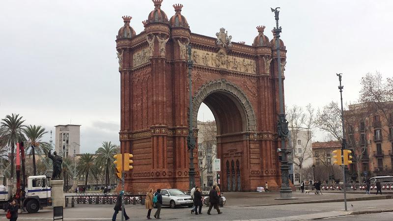 Łuk Tryumfalny Barcelona