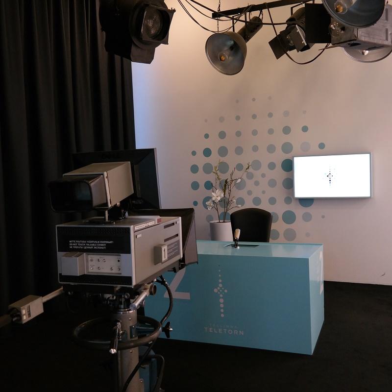 Wieża TV Studio nagrań Tallin