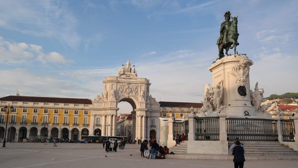 Praça do Comércio / Lizbona