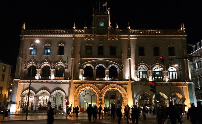 Dworzec Rossio / Lizbona