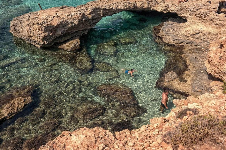 Blue-Lagoon-comino-malta-  Co zwiedzić i zobaczyc na malcie zwiedzanie malty blog