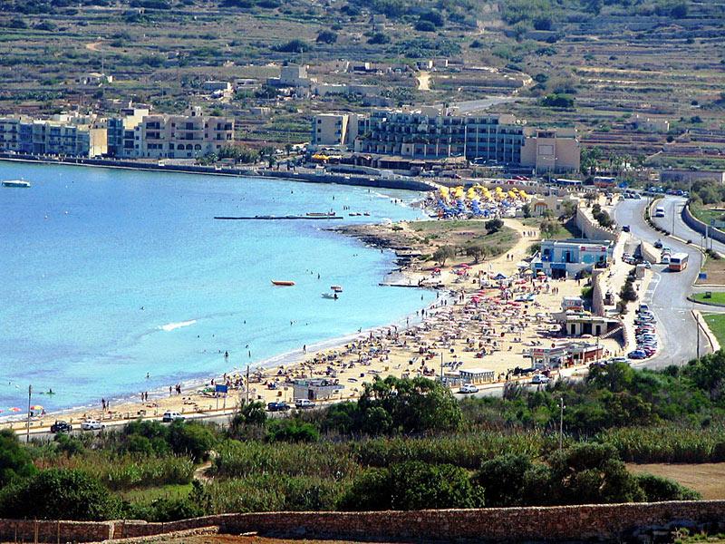 Mellieħa Bay Malta