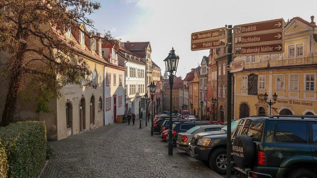 Hradczany Praga ulice praga na weekend
