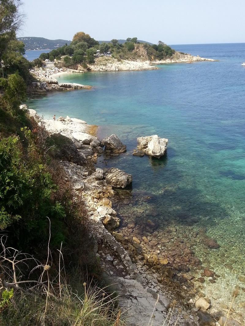 Okolice plaży Bataria,Kassipi, Korfu