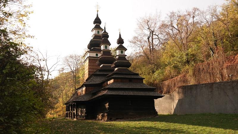 Praga Petrin kościół św. Michała Archanioła