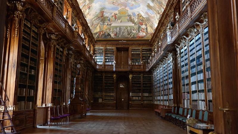 Praga Strahow Biblioteka
