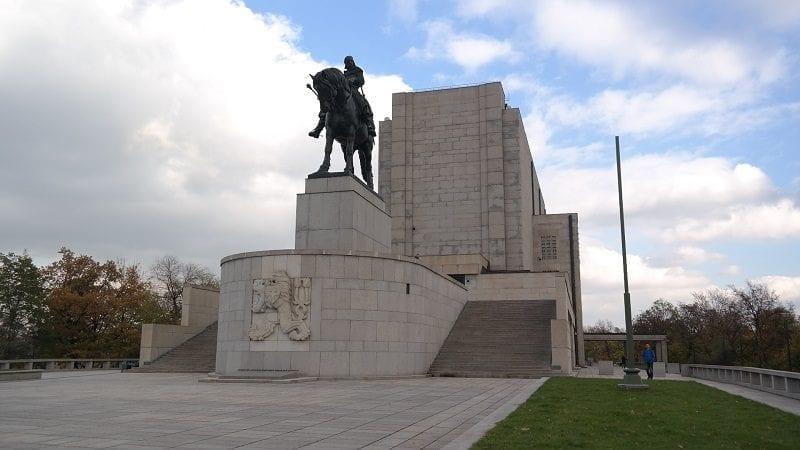 Vitkov Praga pomnik wzgórze