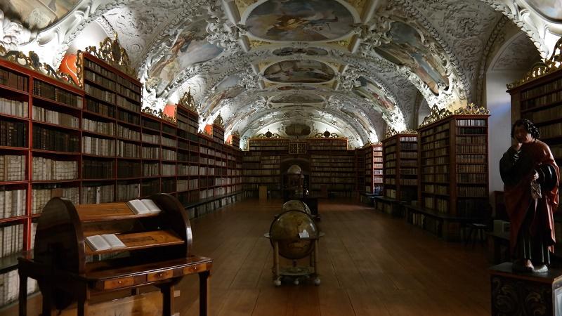 Praga Biblioteka Strahow