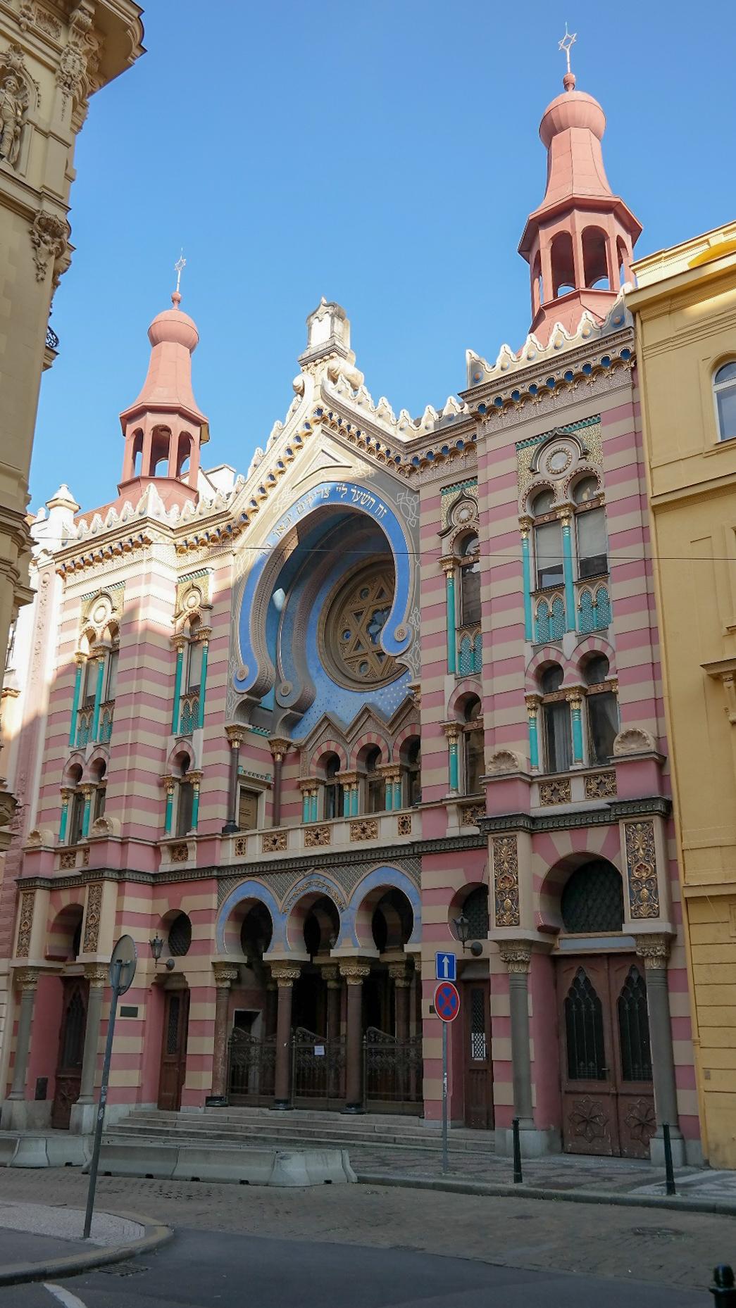 Synagoga Jubileuszowa Praga Co zwiedzic i zobaczyc w Pradze w weekend