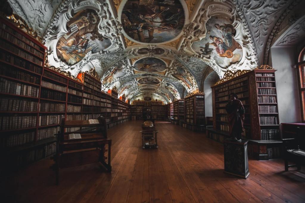 Biblioteka na Strahovie