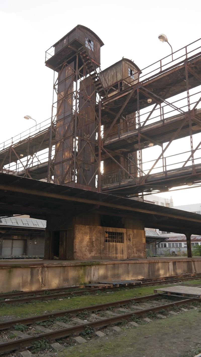 Zizkow dworzec przemysłowy Želivského