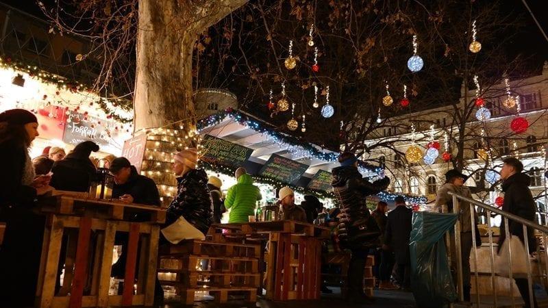 Budapeszt Budapest fair, jarmark bożonarodzeniowy