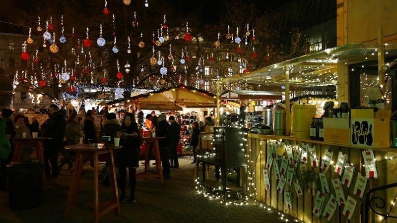 Budapeszt Budapest fair, jarmark bożonarodzeniowy Budapeszt