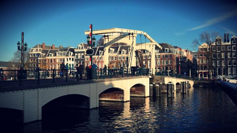 Amsterdam chudy most