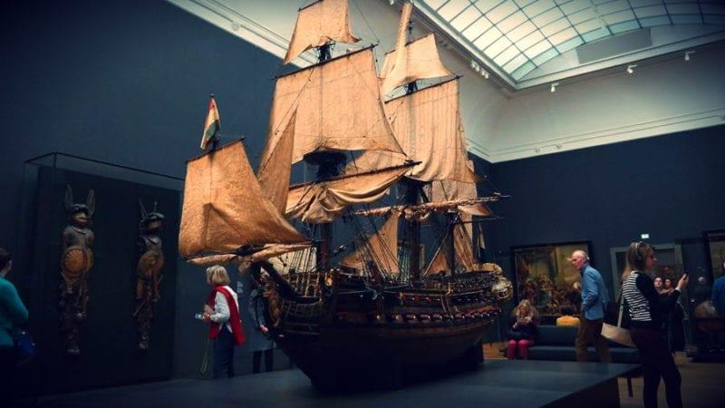 RijksMuseum statki