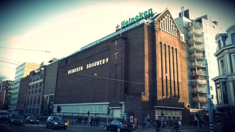 Heineken experience muzeum amsterdam