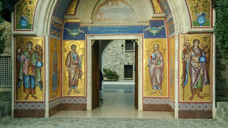 Monaster Kykkos Cypr gory Trodos Co zwiedzic i zobaczyc na cyprze blog