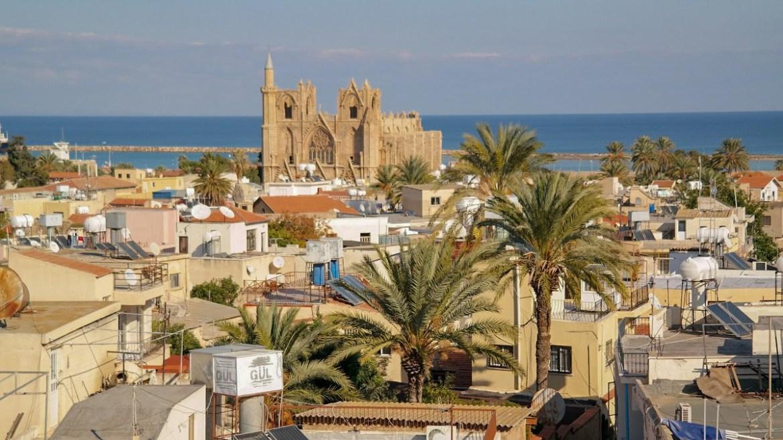 Rivellino Bastion Famagusta Cypr północny część turecka co zobaczyć i zwiedzic na cyprze blog panorama miasta