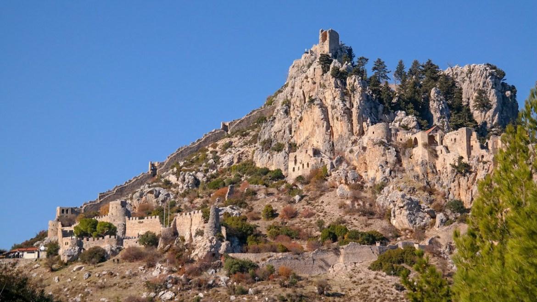 Zwiedzanie cypru Zamek Hilariona Cypr Kirynia Hillarion Cypr północny co zwiedzic i zobaczyc na cyprze blog