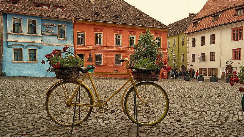 Sighișoara Stare miasto