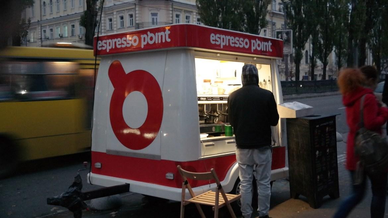 Kawa na ulicach Kijowa