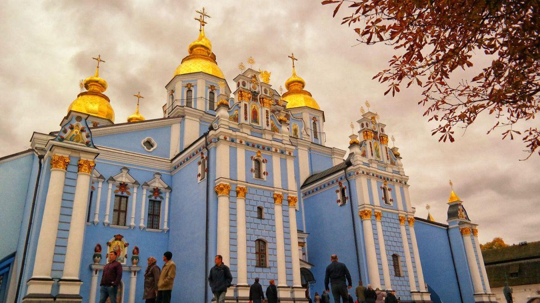 Monaster św. Michała Archanioła o Złotych Kopułach Kijów