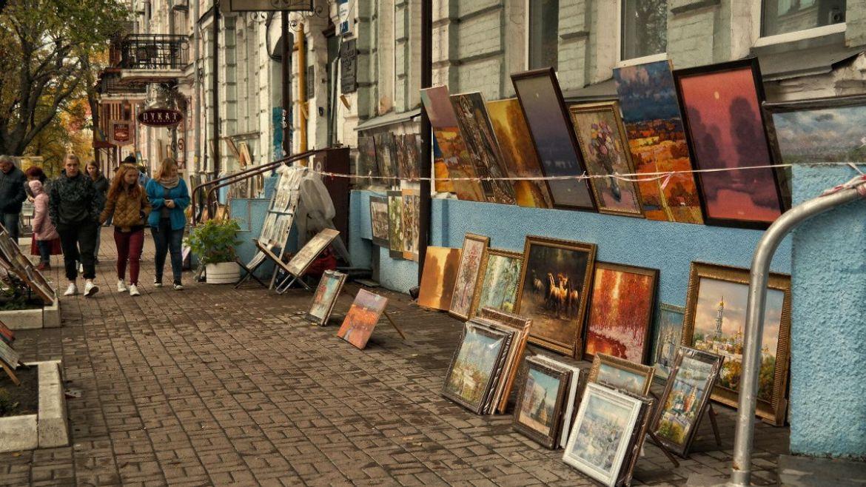 Ulica Volodymyrska Kijów