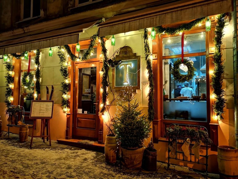lwów zimą restauracje co zobaczyc gdzie jeść
