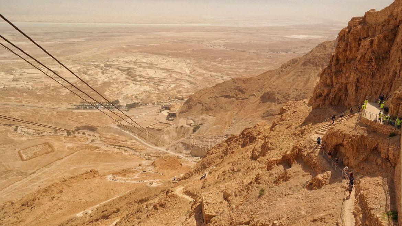 Snake path masada izrael
