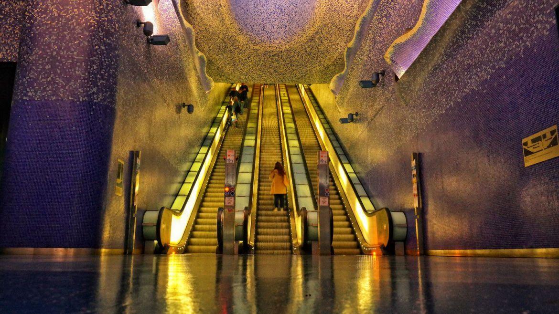 Metro Toledo w Neapolu