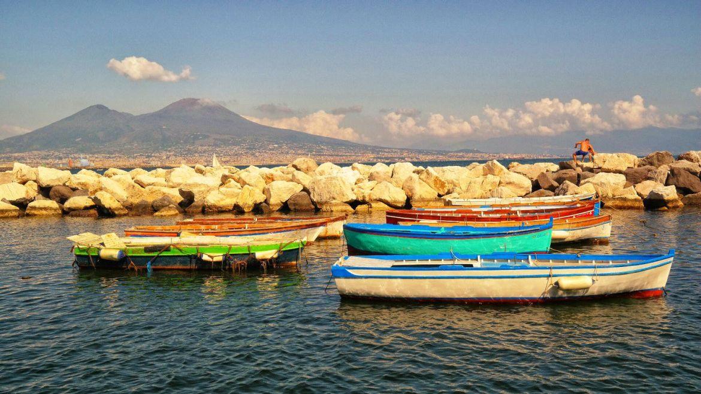 Promenada Neapol Wezuwiusz