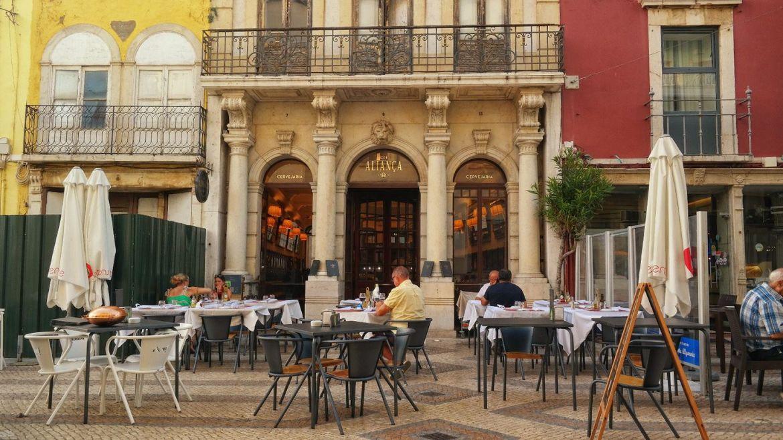 Alianca - najstarsza kawiarnia w Faro