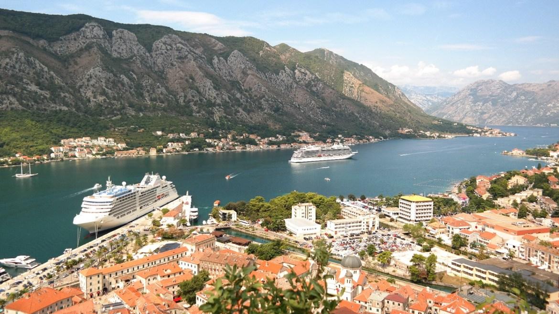 Zatoka Kotorska Kotor Czarnogóra