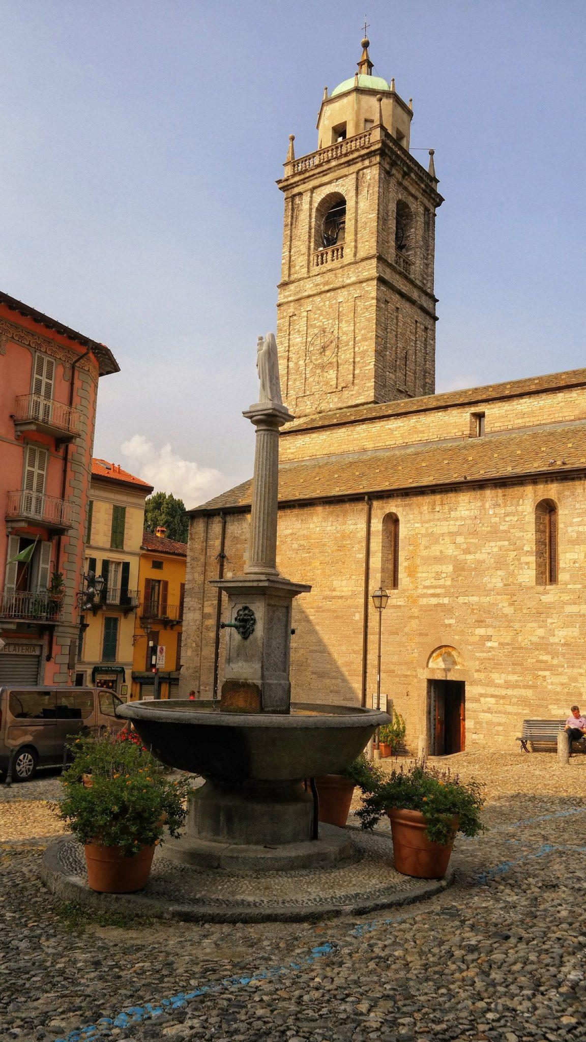Chiesa San Giacomo Bellagio Włochy Italy