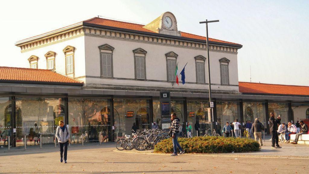 Dworzec kolejowy Bergamo