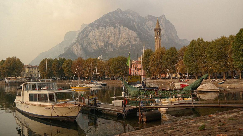 Lecco-Włochy-Lombardia varenna bellagio
