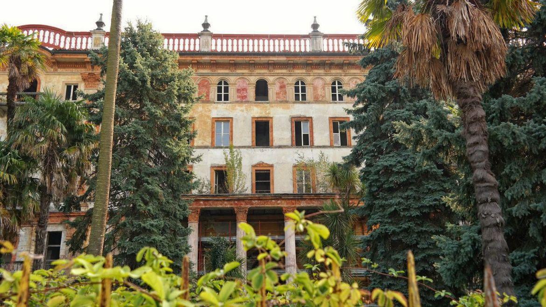 Opuszczony hotel ballegaio Włochy